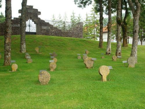 Cementerio de Burguete Navarra