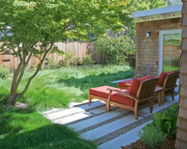 el diseo con csped ecolgico es posible tanto en jardines como